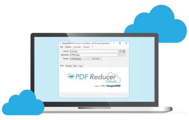 PDF Reducer Cloud Visual
